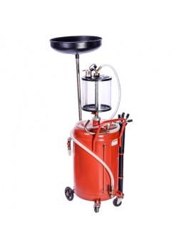 Установка для слива и вакуумной откачки масла с мерной колбой 80л B8010KVS TORIN