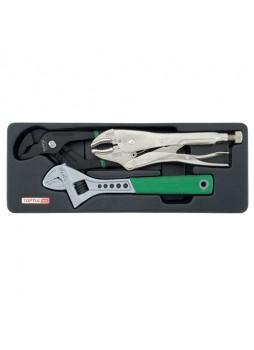 Набор инструмента комбинированный 3ед GBAT0301 TOPTUL