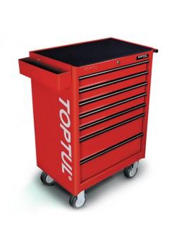 Тележка для инструмента 7 секций (красная) TCAA0702 TOPTUL