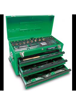 Ящик с инструментом 3секции 99ед. GCAZ0038 TOPTUL