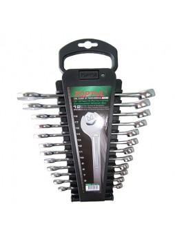 Набор ключей комб. на холдере 12 шт. 6-19мм GAAC1201 TOPTUL