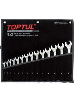Набор ключей комб. 14 шт. 8-24мм Dynamic GPAQ1402 TOPTUL