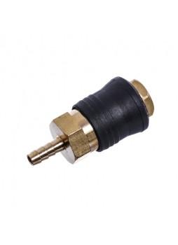 Быстроразъёмное соединение на шланг 6мм (PROFI) SE6-2SH AIRKRAFT