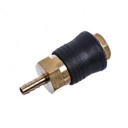 Быстроразъёмное соединение на шланг 10мм (PROFI) . Made in Italy. SE6-4SH AIRKRAFT